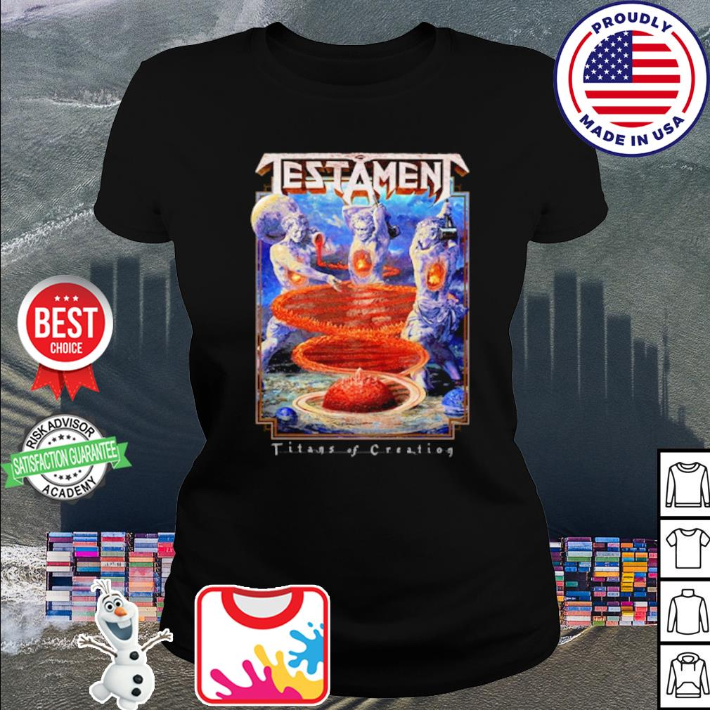 Testament Titans of Creation shirt