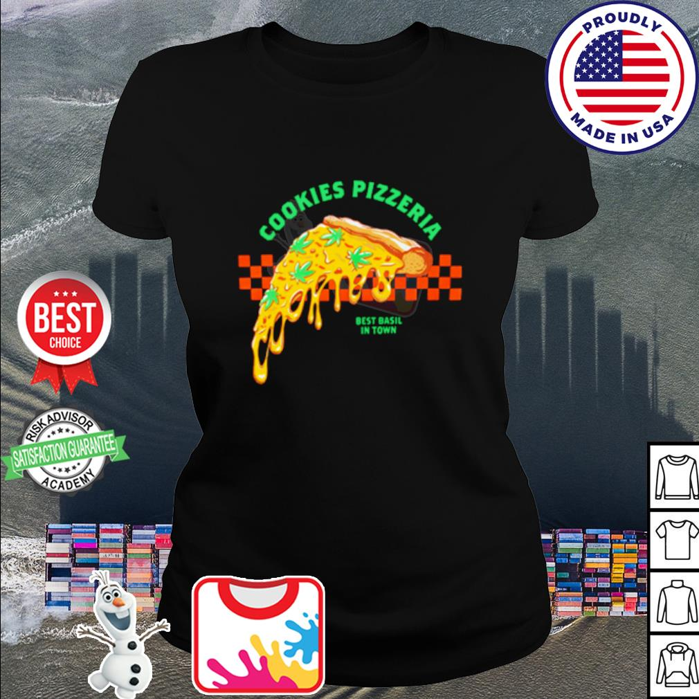Cookies Pizzeria shirt