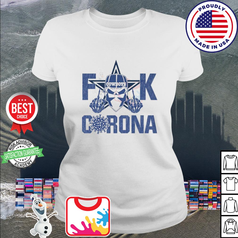 Fuck Cowboys Corona s ladies tee