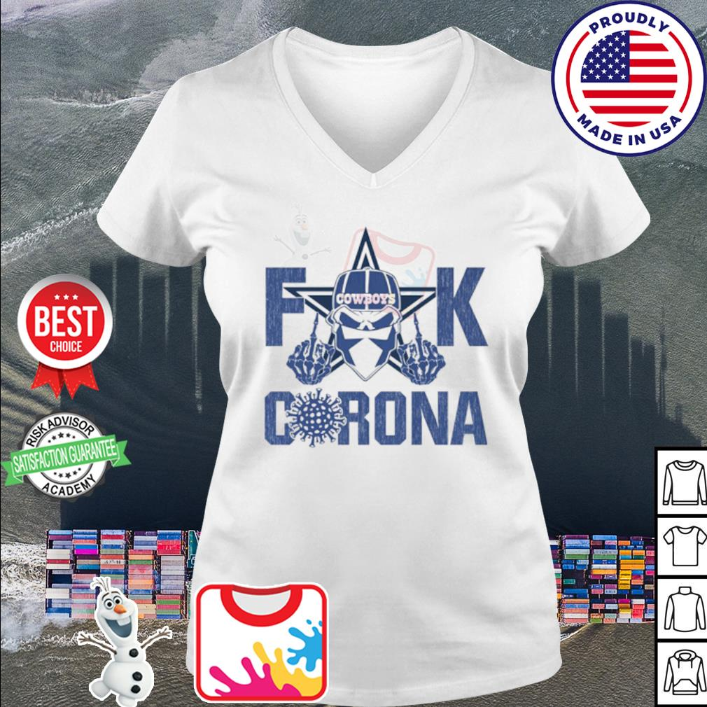 Fuck Cowboys Corona s v-neck t-shirt