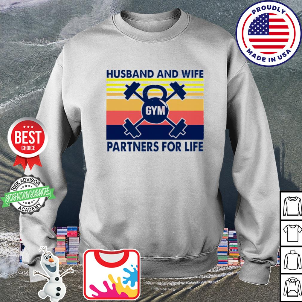 Husband And Wife Partners For Life Vintage s sweater