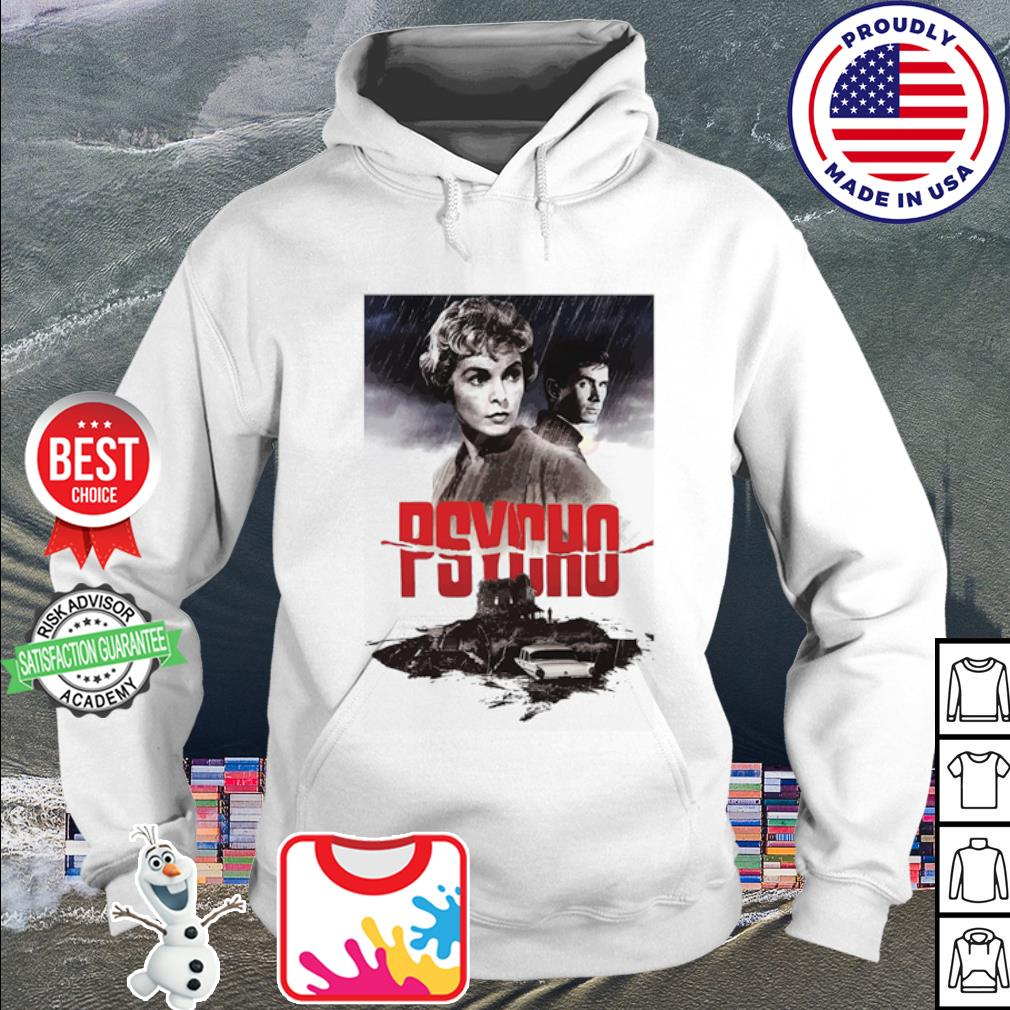 Psycho Janet Leigh and Anthony Perkins movies poster s hoodie