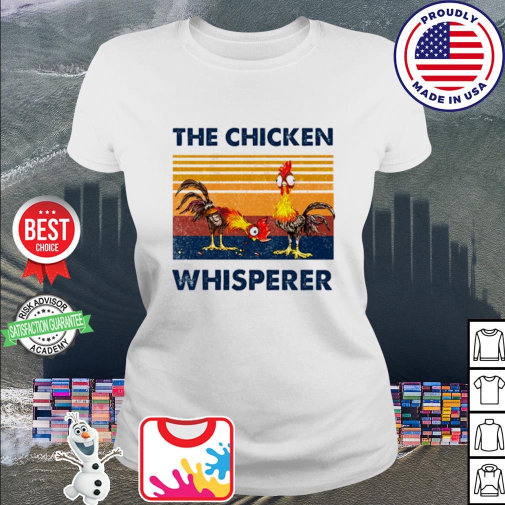 The Chicken Whisperer Vintage s ladies tee