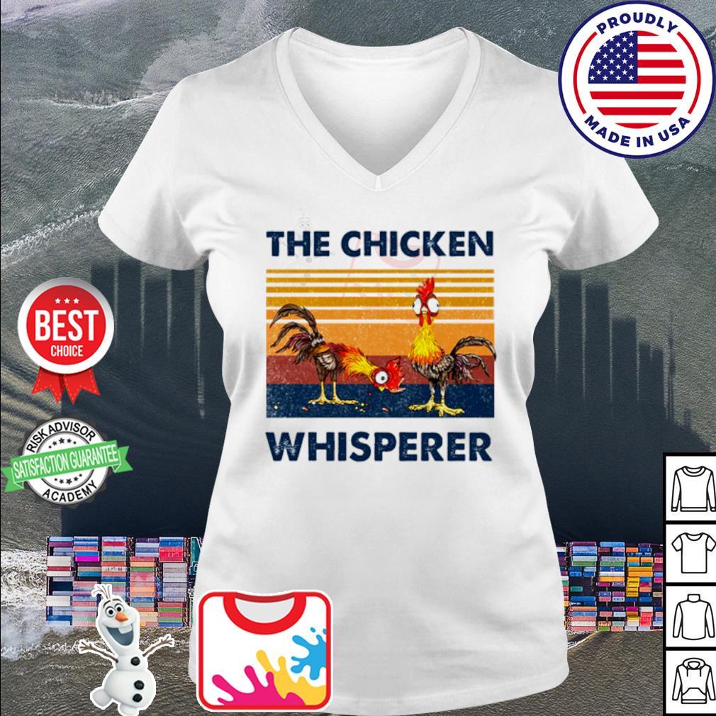 The Chicken Whisperer Vintage s v-neck t-shirt