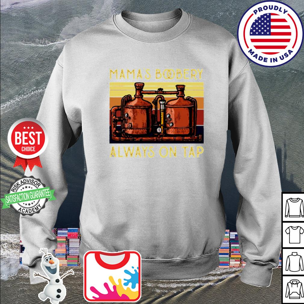 Vintage Filters Mama's Boobery always on tap s sweater