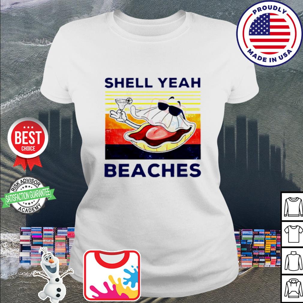 Vintage shell yeah beaches s ladies tee