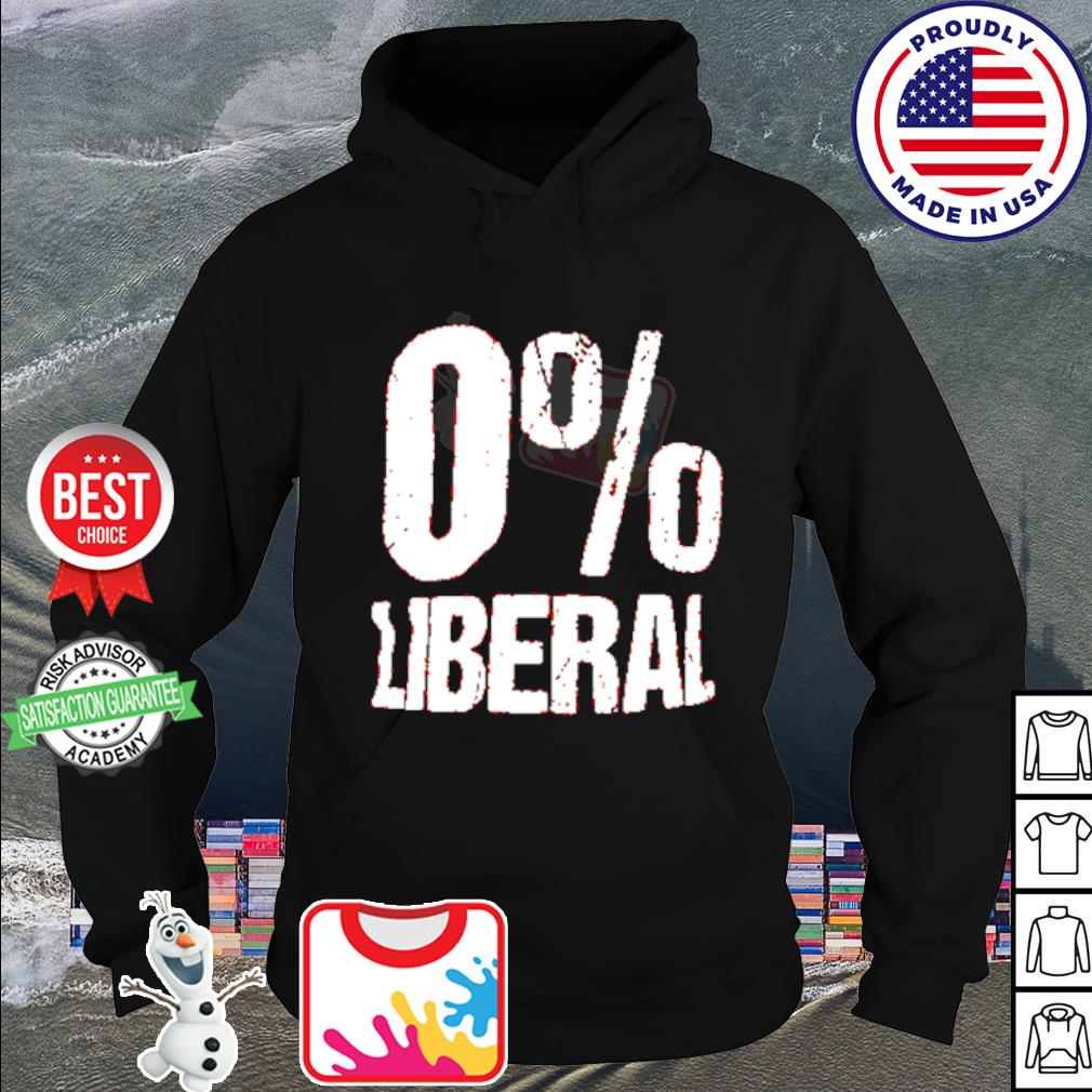0% Liberal s hoodie