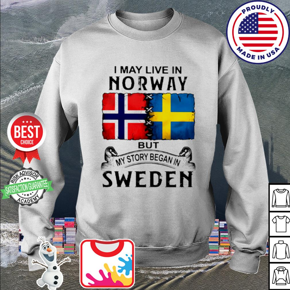 I may live in NORWAY but my story began in Sweden s sweater