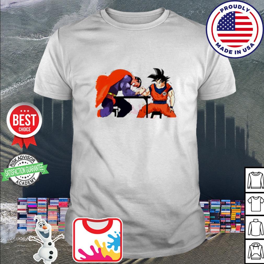 Vegeta vs Superman Arm-Wrestling shirt