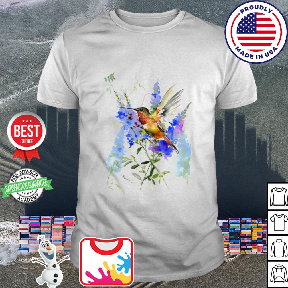 Bird Watercolor shirt