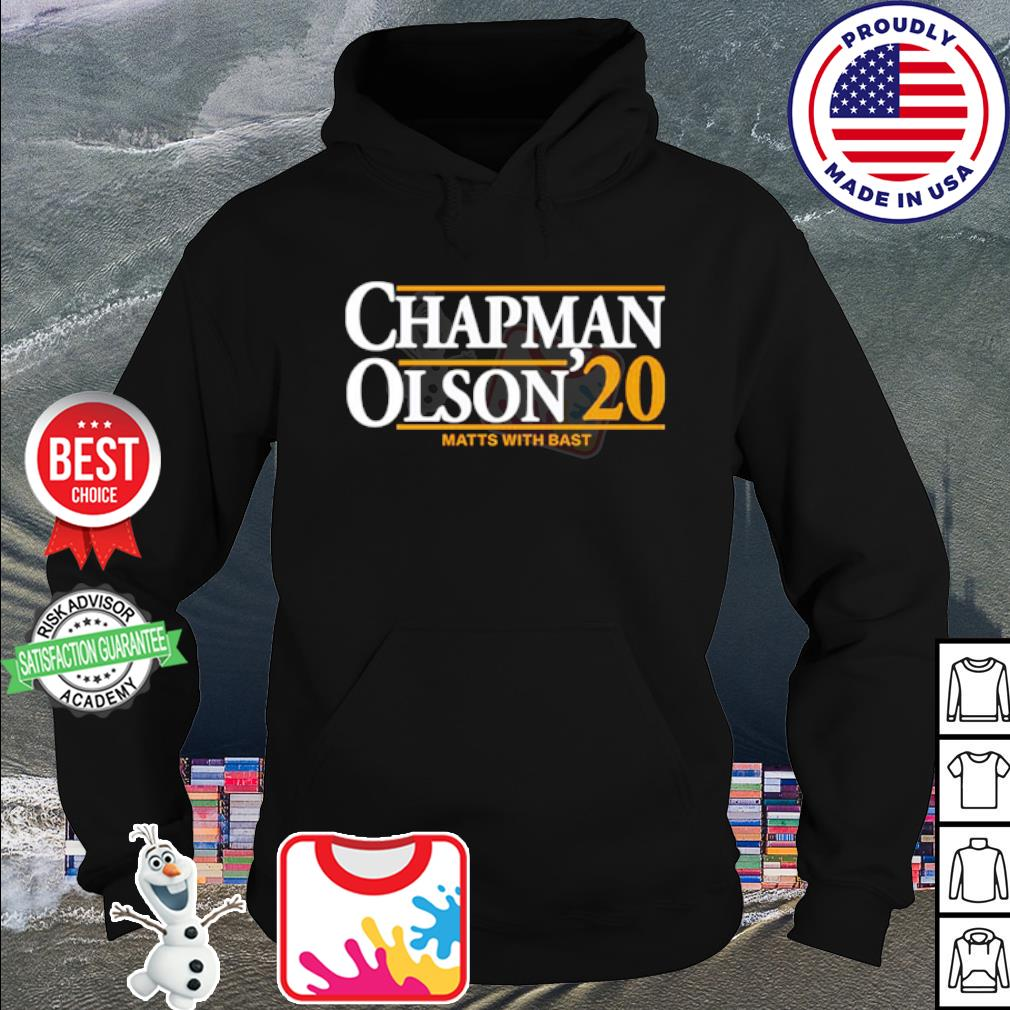 Chapman Olson 2020 s hoodie