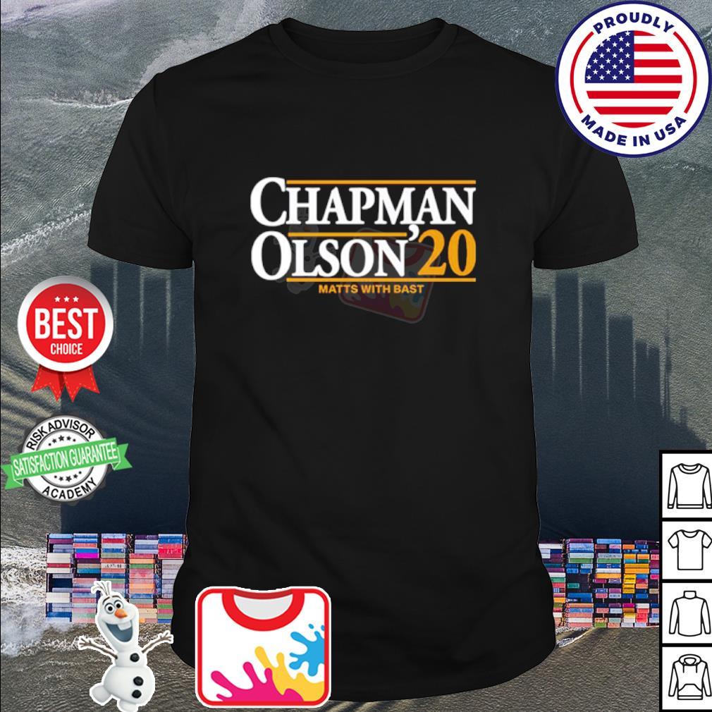 Chapman Olson 2020 shirt