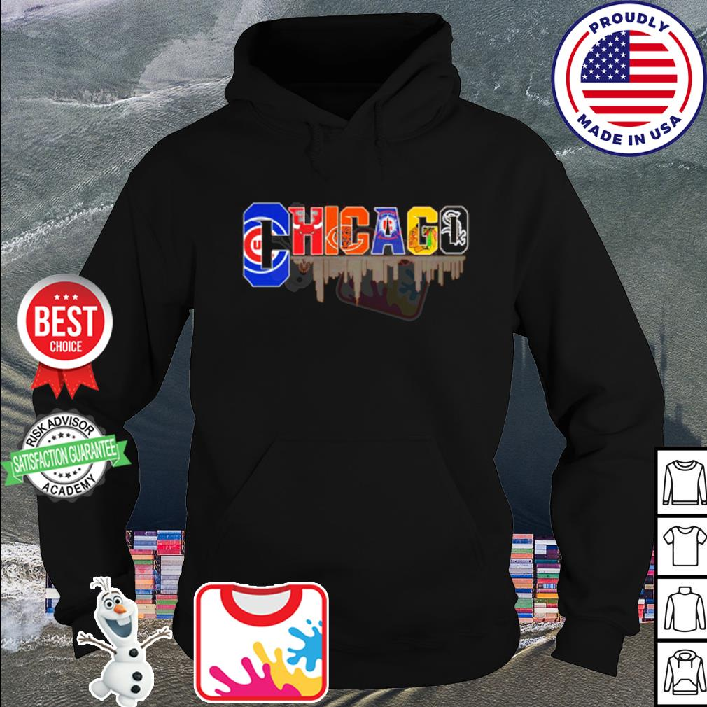 Chicago Cubs Chicago Bulls Chicago Bears Chicago Fire Soccer s hoodie