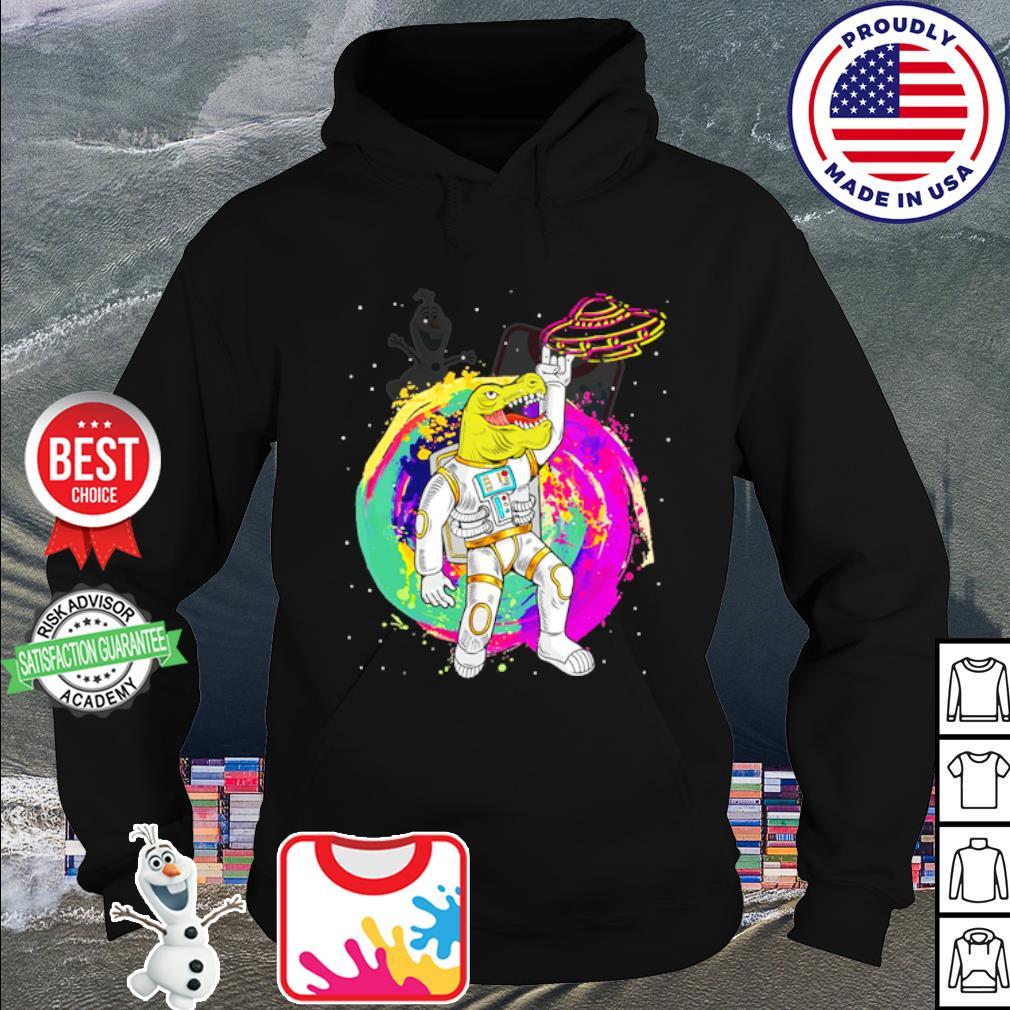 Crocodile astronaut Rock And Roll s hoodie
