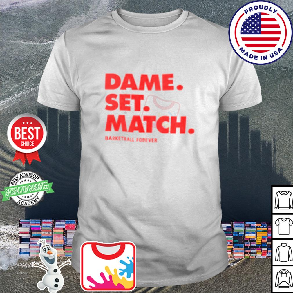 Dame set match shirt