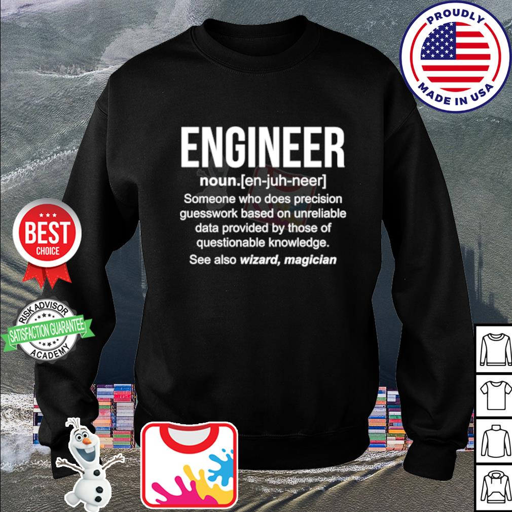 Engineer someone who does precision guesswork based s sweater