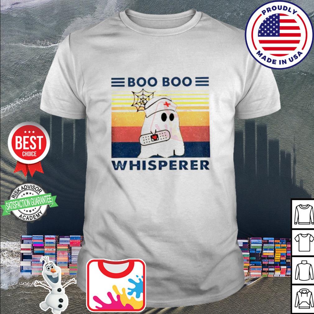 Ghost Boo Boo Whisperer Vintage shirt