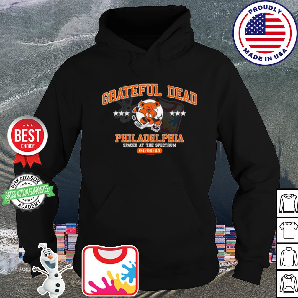 Grateful dead philadelphia spaced at the spectrum s hoodie