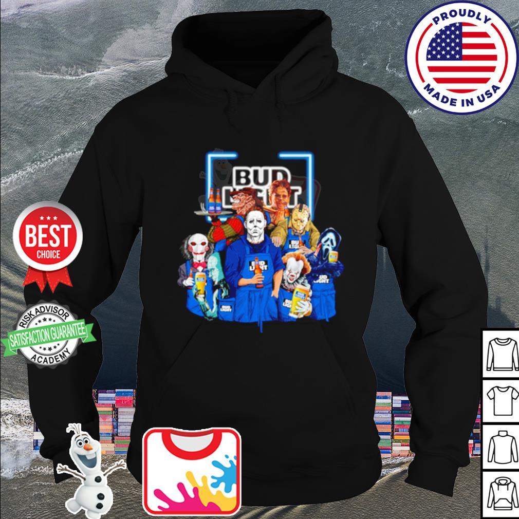 Horror character movie drink Bud Light s hoodie