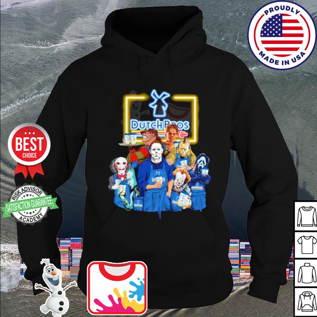 Horror character movie drink Dutch Bros s hoodie