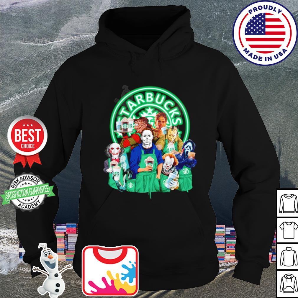 Horror character movie drink Starbucks coffee s hoodie