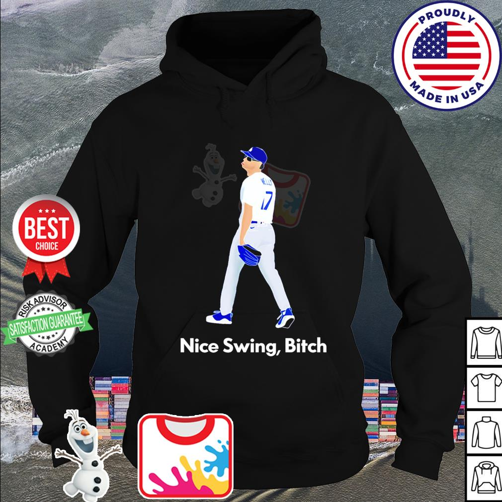 Joe Kelly 17 nice swing bitch s hoodie