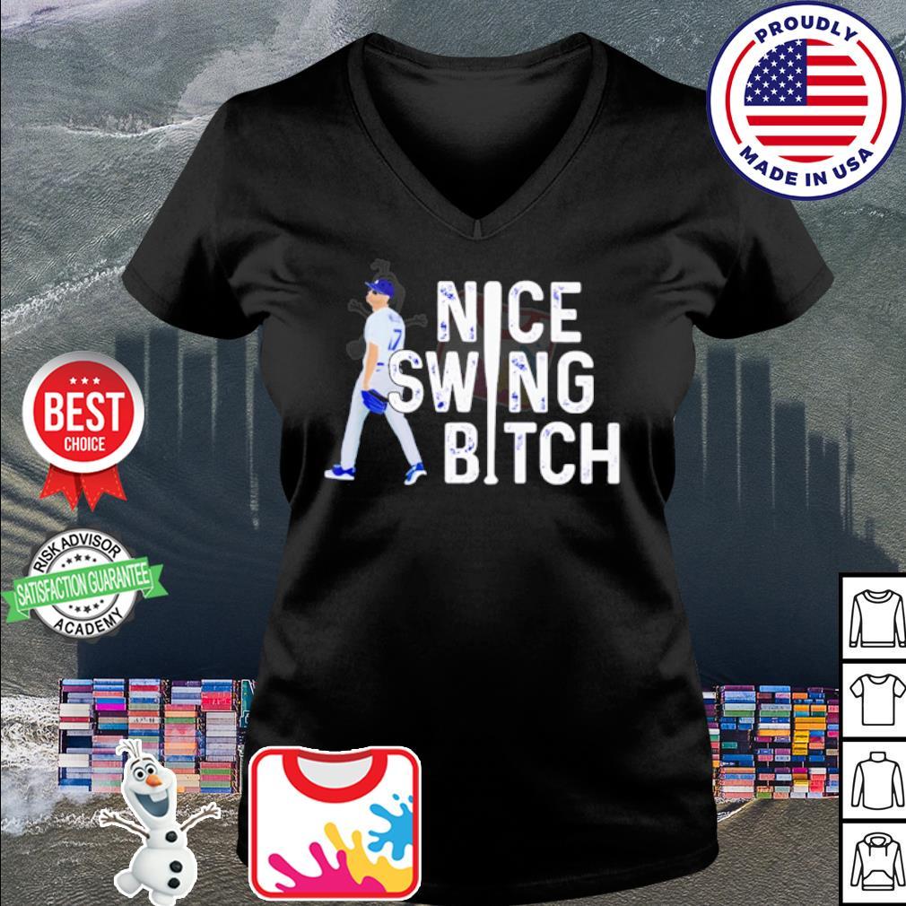 Joe Kelly nice swing bitch s v-neck t-shirt