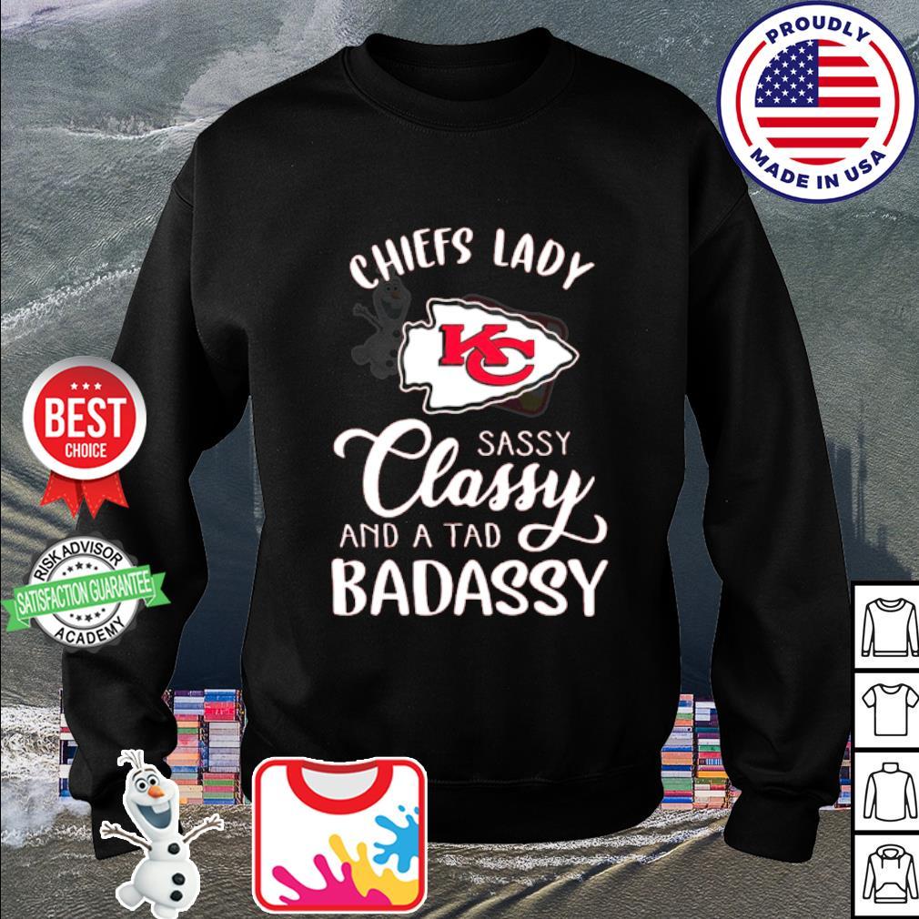 Kansas City Chiefs lady sassy classy and a tad badassy s sweater