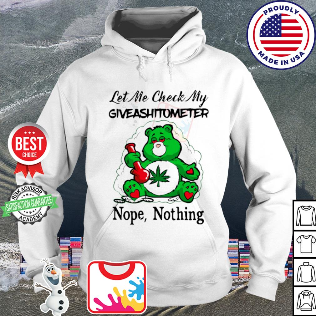 Let me check my giveashitometer nope nothing s hoodie
