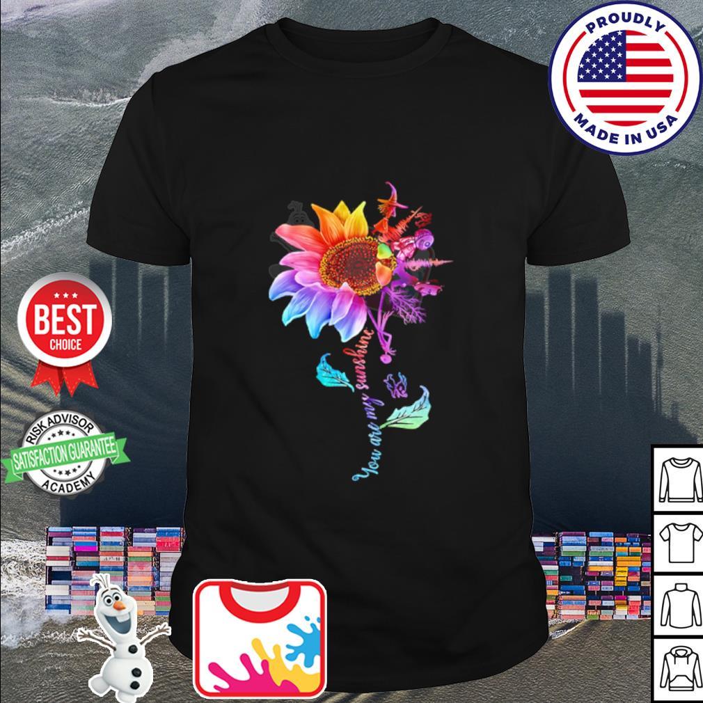 Lock Shock and Barrel Sunflower You are my sunshine shirt