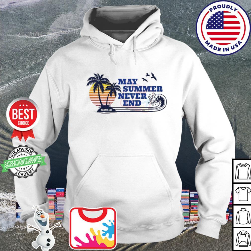 May Summer Never End Vintage s hoodie