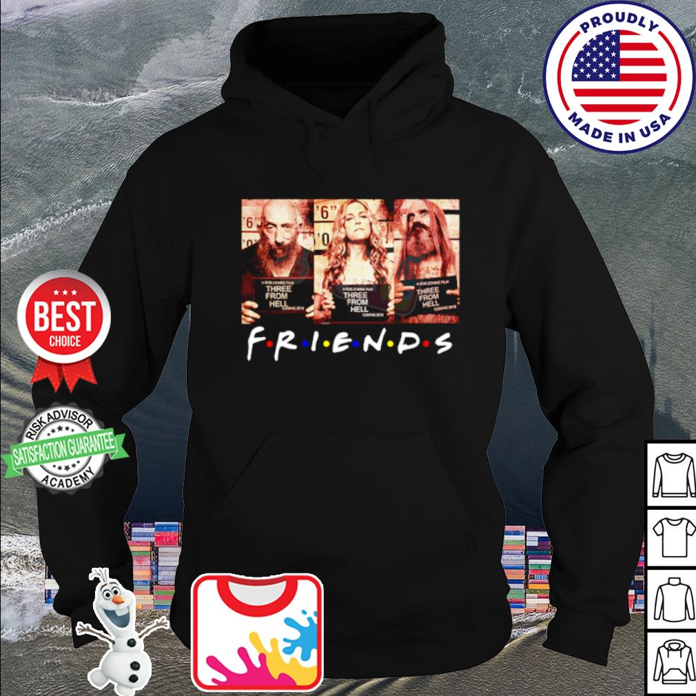 Official Bill Moseley Sid Haig Sheri Moon Zombie 3 From Hell Friends s hoodie