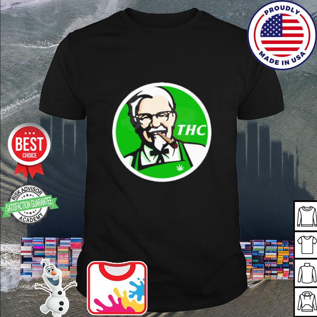 Official KFC logo THC cannabis shirt