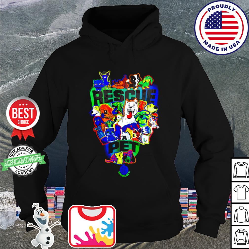 Official Rescue pet s hoodie