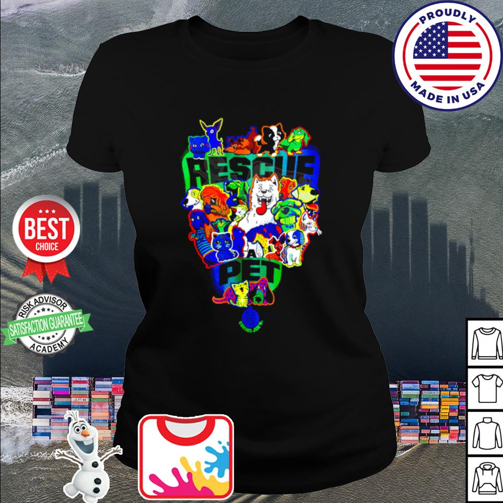 Official Rescue pet s ladies tee