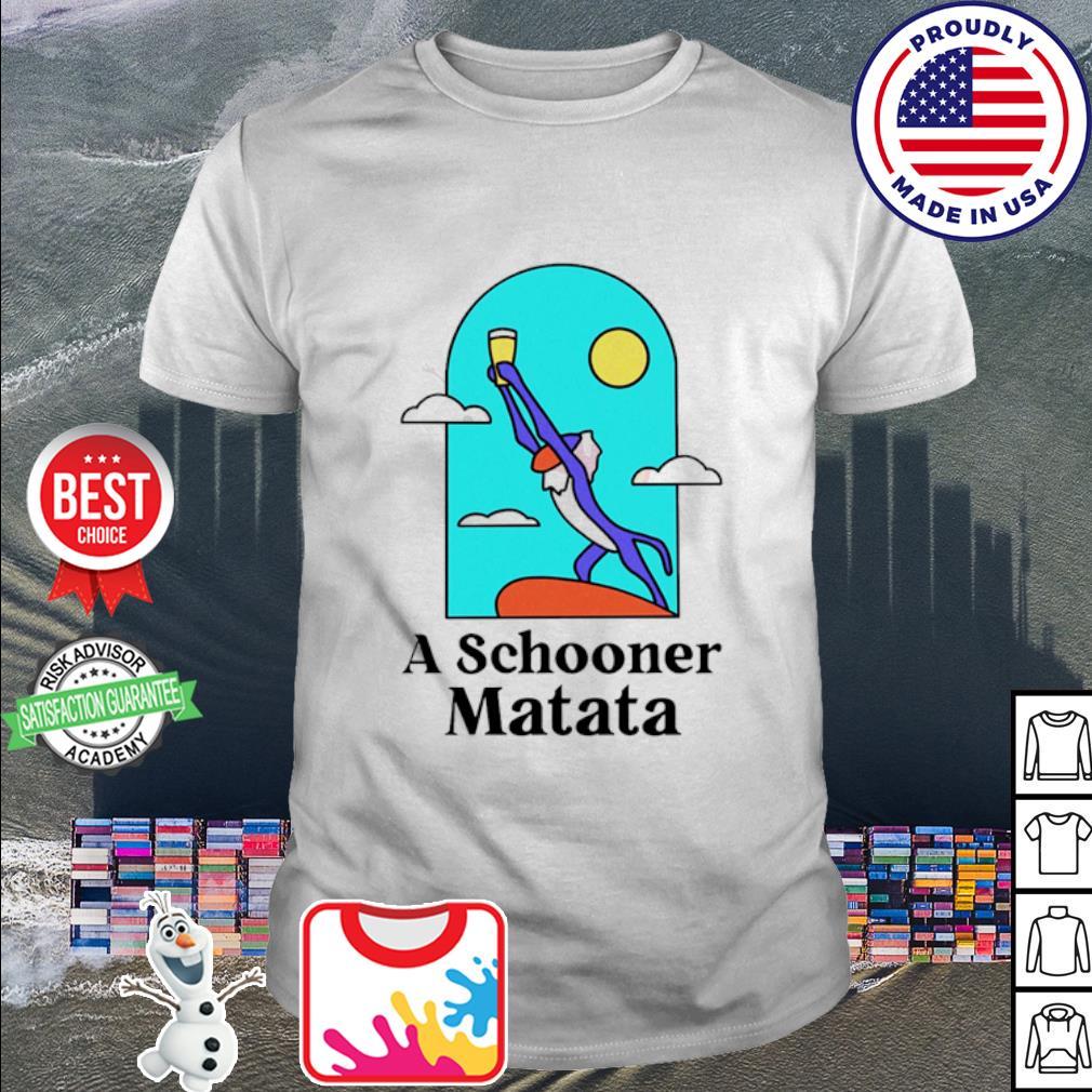 Rafiki A schooner Matata shirt