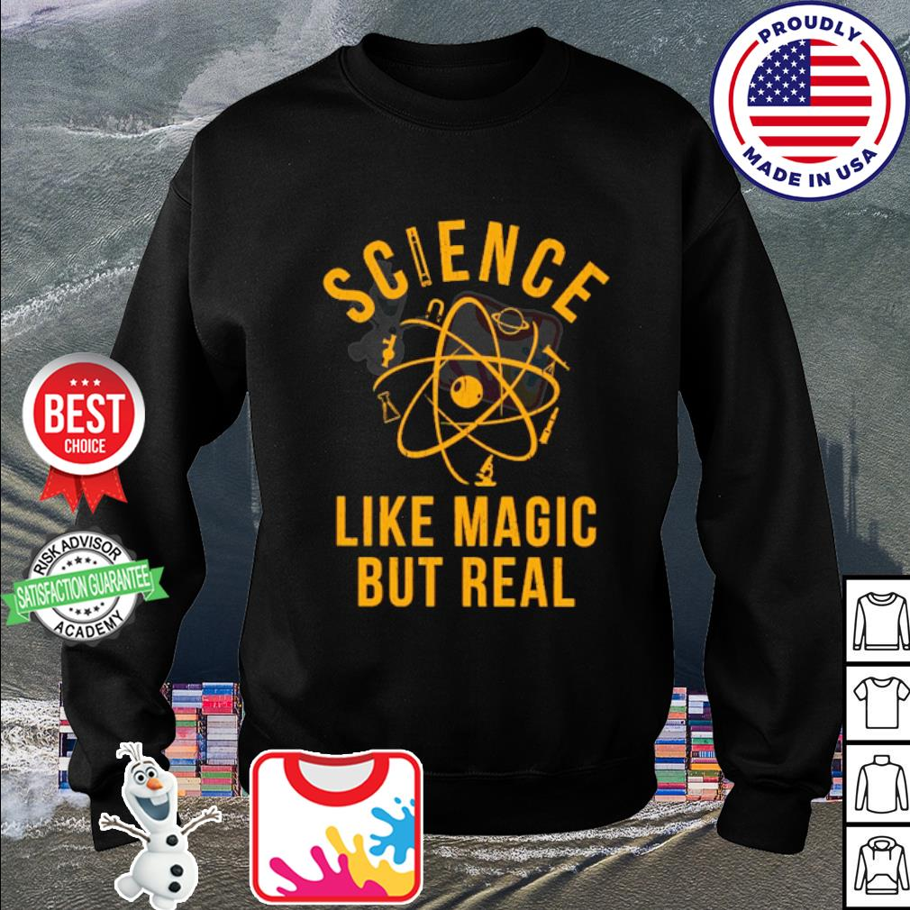 Science Like Magic But Real s sweater