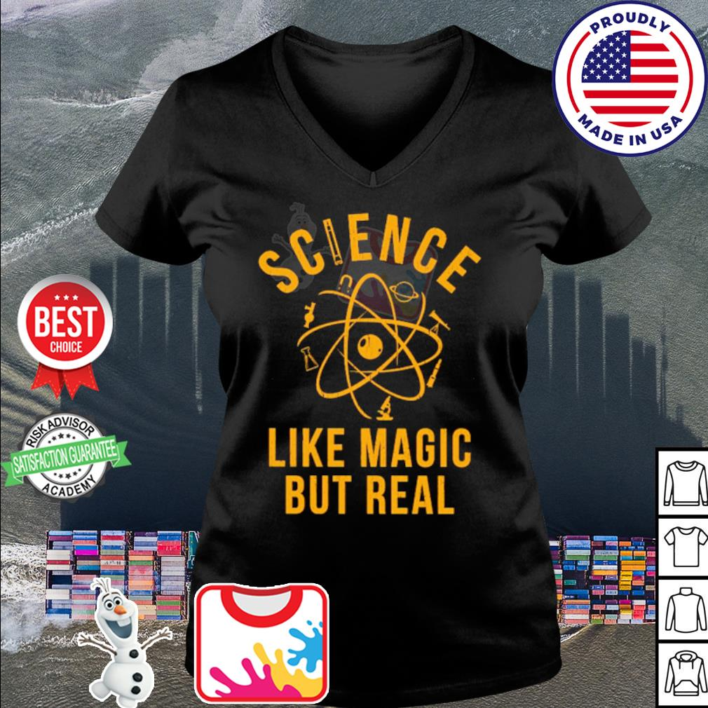 Science Like Magic But Real s v-neck t-shirt
