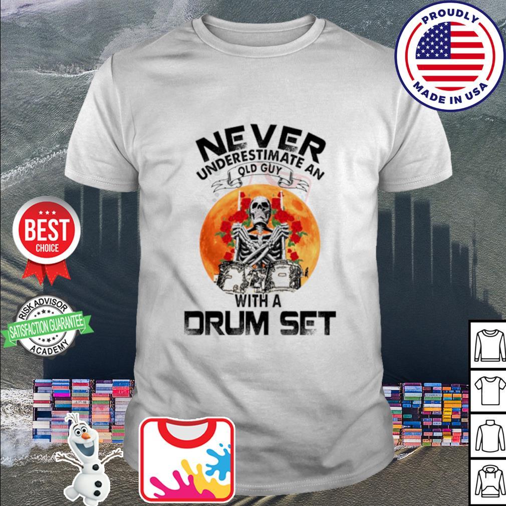 Skeleton drums make me feel alive vintage shirt, hoodie, sweater, long  sleeve and tank top