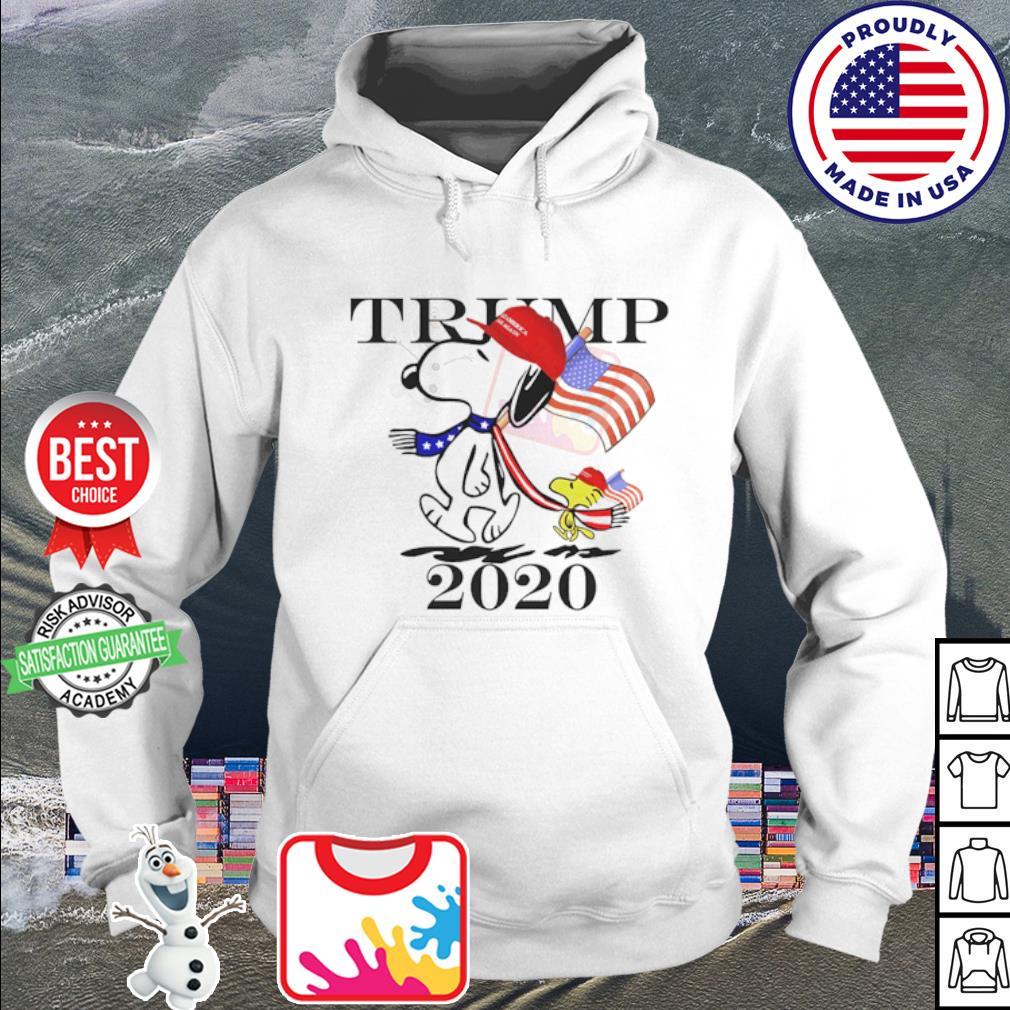 Snoopy and Woodstock vote Trump 2020 s hoodie