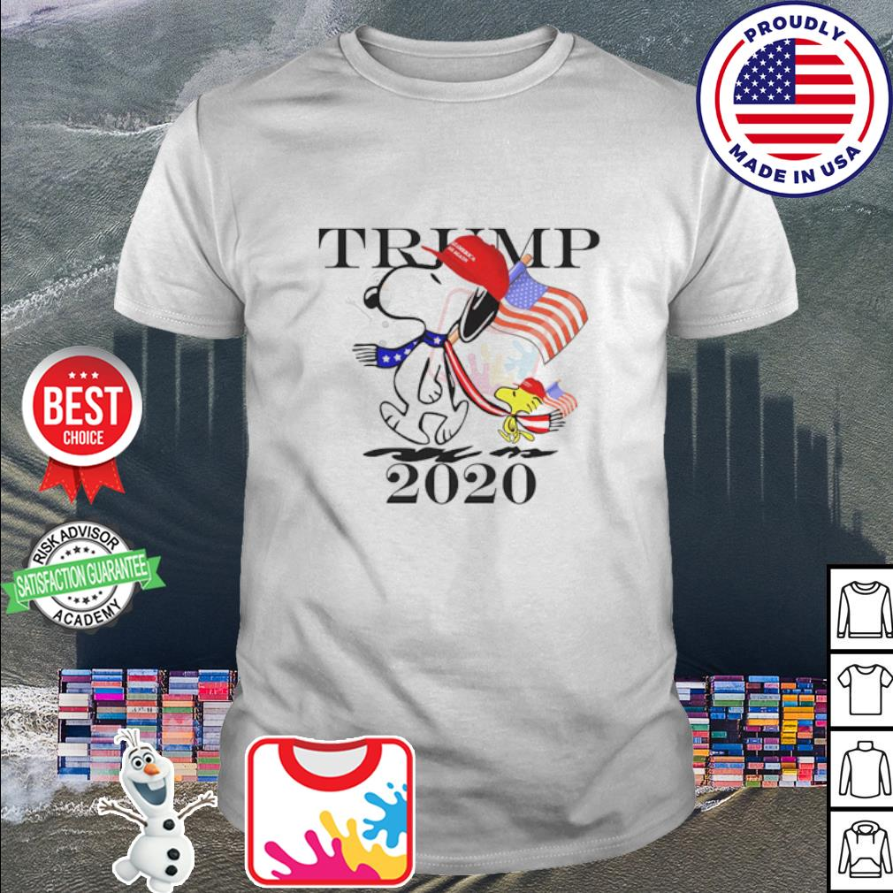 Snoopy and Woodstock vote Trump 2020 shirt