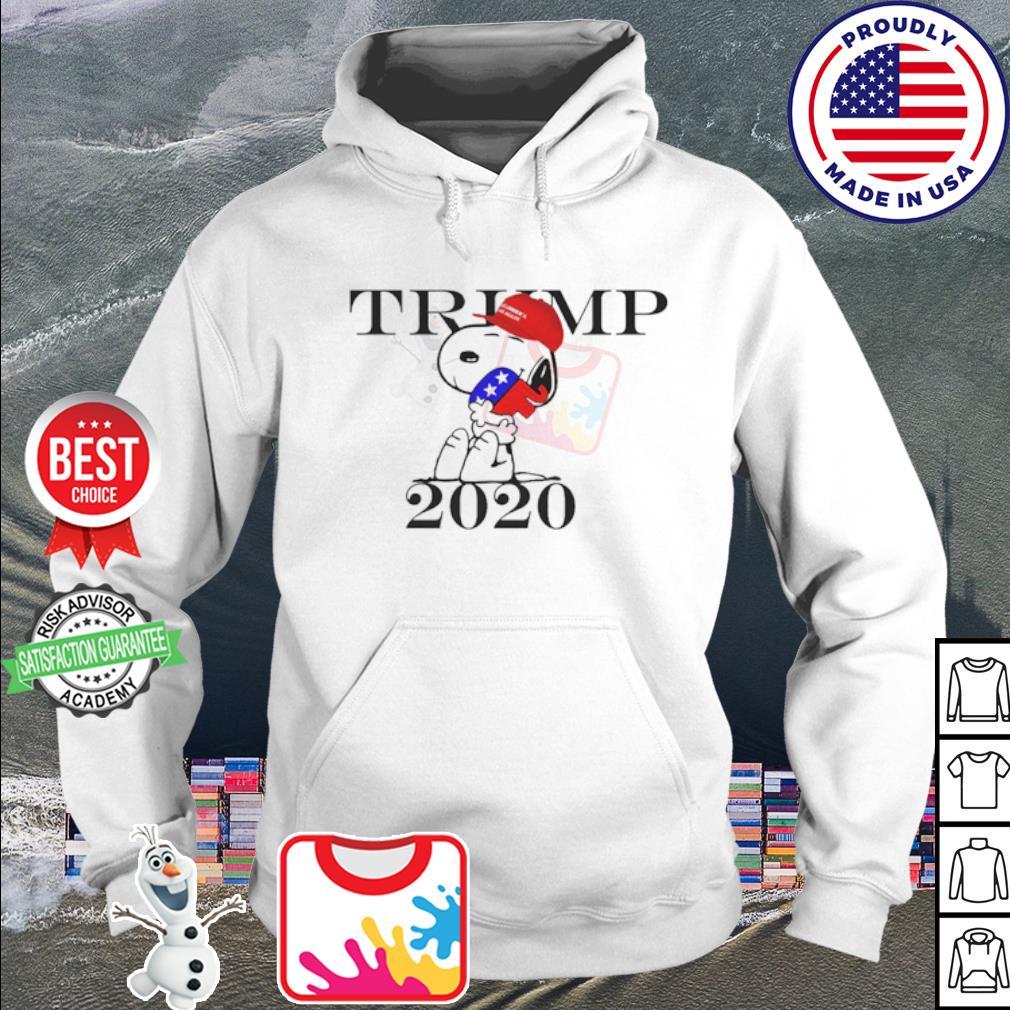 Snoopy hug Republican Elephant Trump 2020 s hoodie
