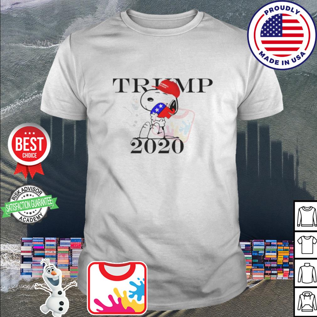 Snoopy hug Republican Elephant Trump 2020 shirt