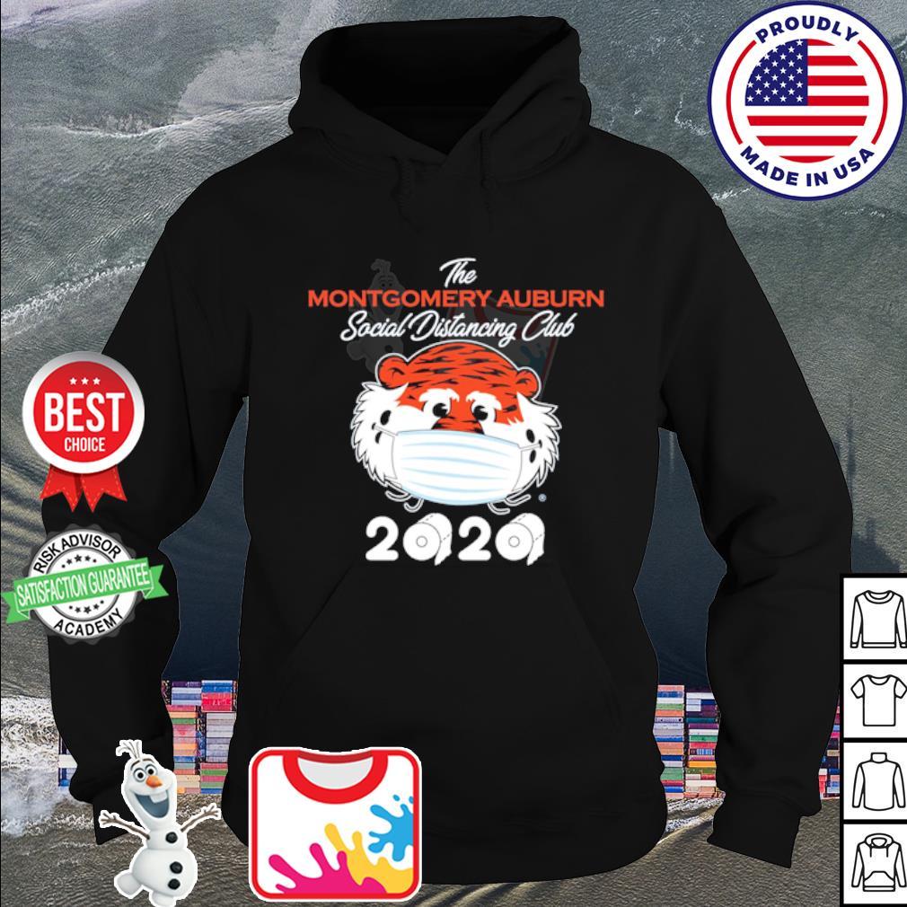 The montgomery Auburn Tigers social distancing club 2020 quarantine s hoodie