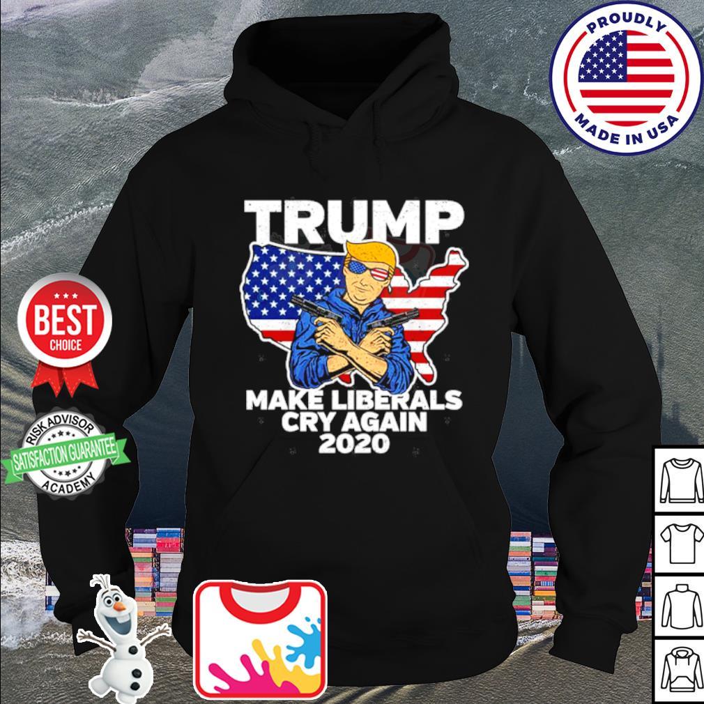 Trimp Male Liberals Cry Again 2020 s hoodie