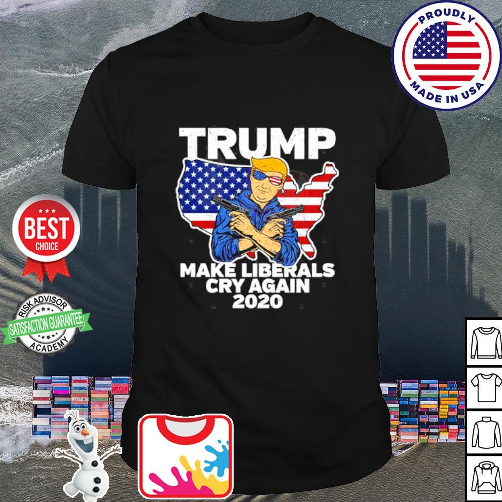 Trimp Male Liberals Cry Again 2020 shirt
