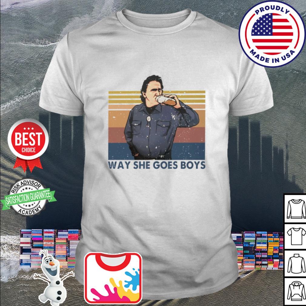Way She Goes Boys vintage vetro shirt