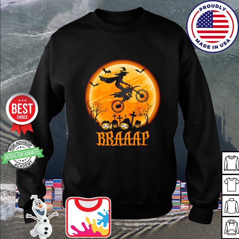 Witch Braap Motocross Halloween s sweater
