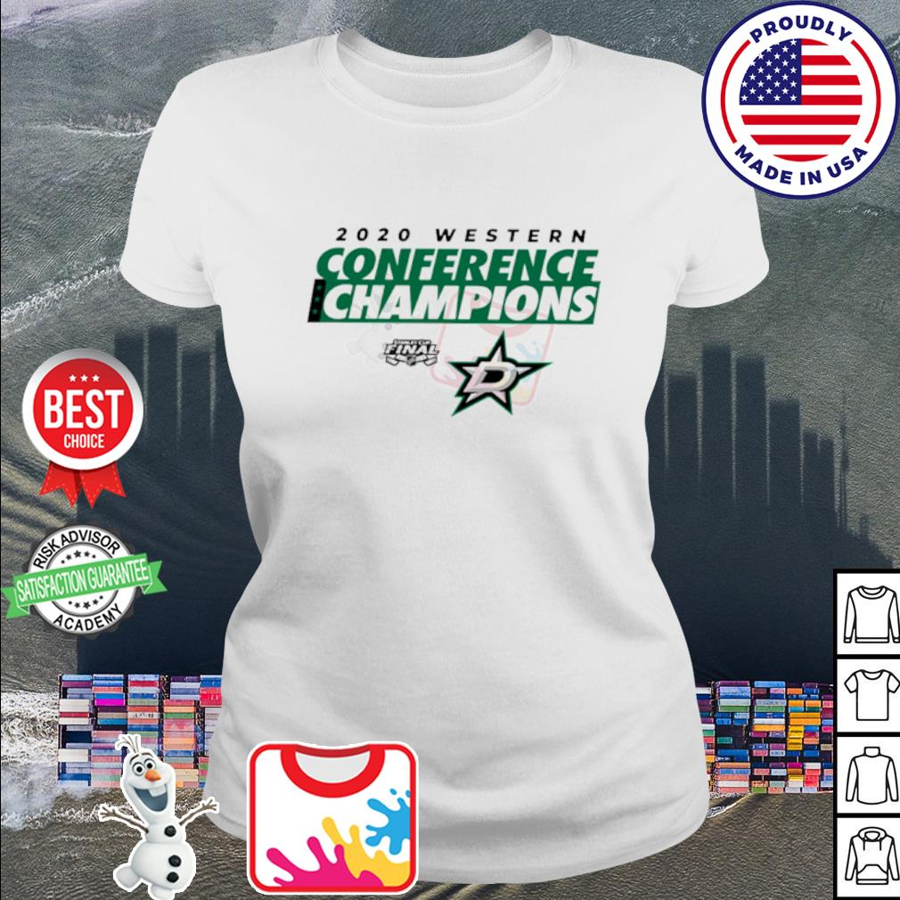 2020 Western Conference Champions Dallas Stars s ladies tee