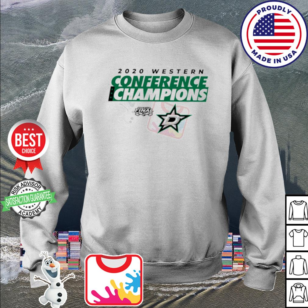 2020 Western Conference Champions Dallas Stars s sweater